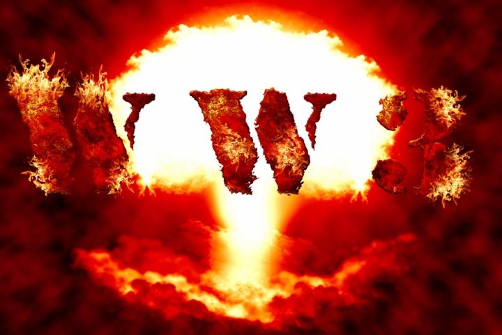 WW3 explosion